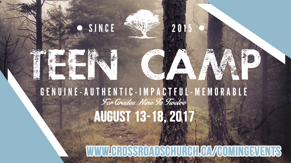 Youth - Teen Camp 2017