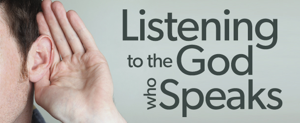 Bulletins - Listening to the God who Speaks