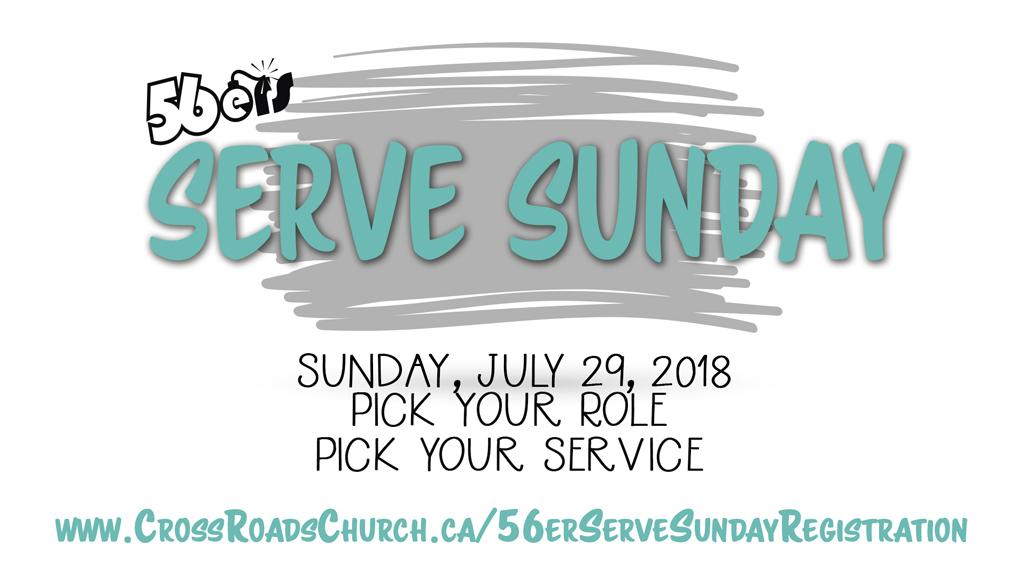 56 serve sunday - july18