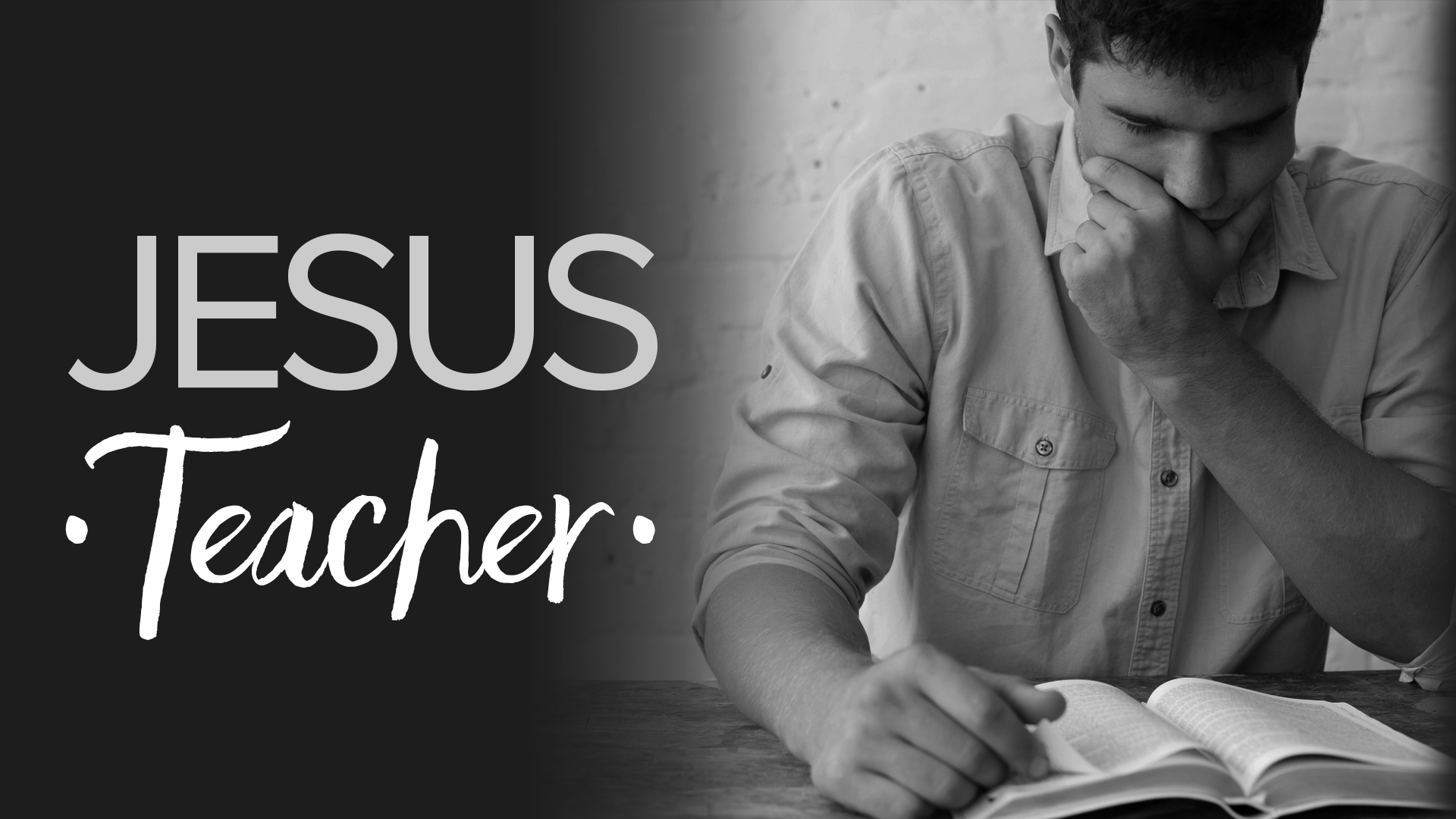 Jesus - Teacher