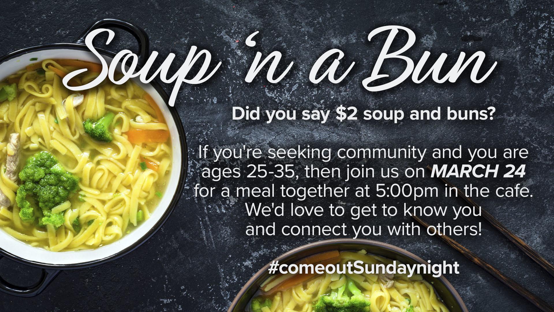 Soup 'n a Bun