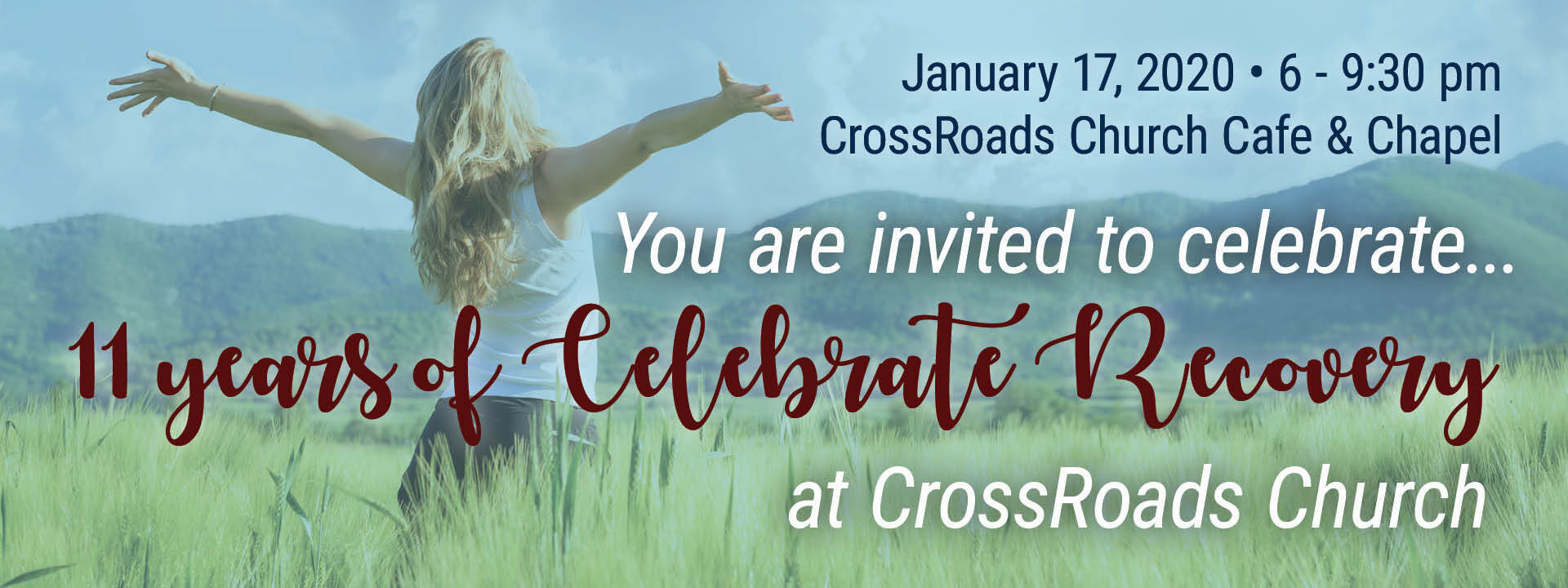11 years of celebrate recovery at crossroads