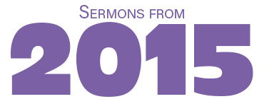 Sermon Graphics - 2015