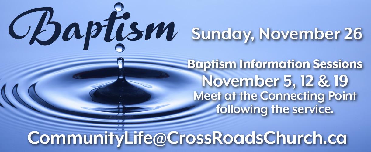 Bulletins - Baptism 2017