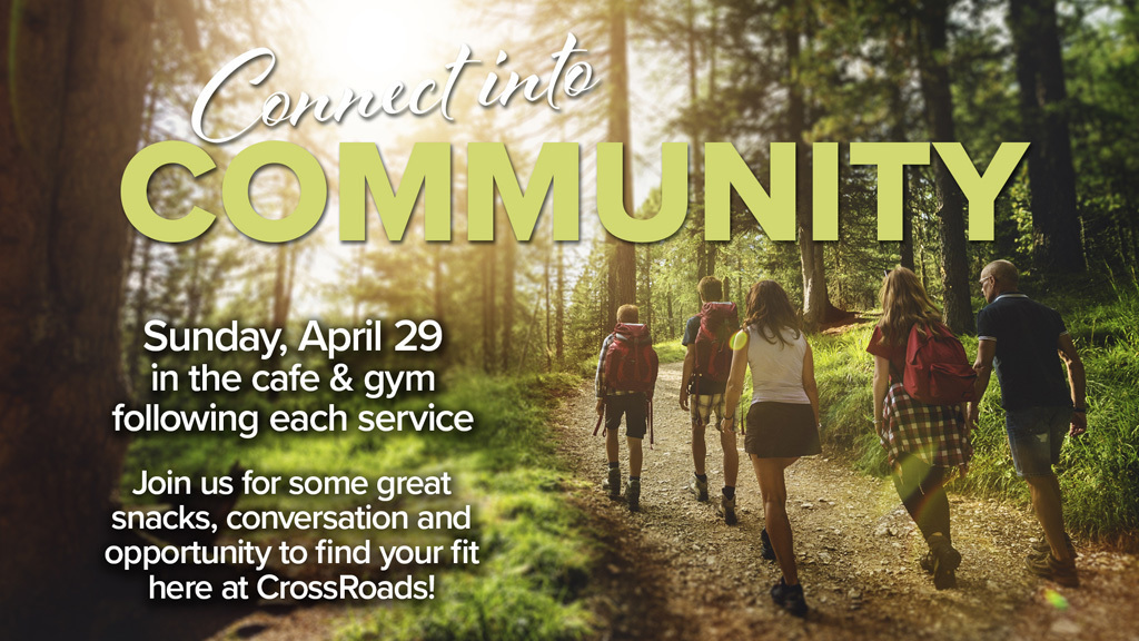 Connect into Community 04-18